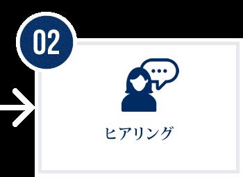 02 ヒアリング